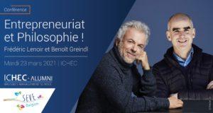 23/03/21- Conférence exclusive Frédéric LENOIR et Benoit GREINDL