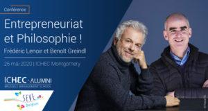 26/05/20- Conférence exclusive Frédéric LENOIR et Benoit GREINDL
